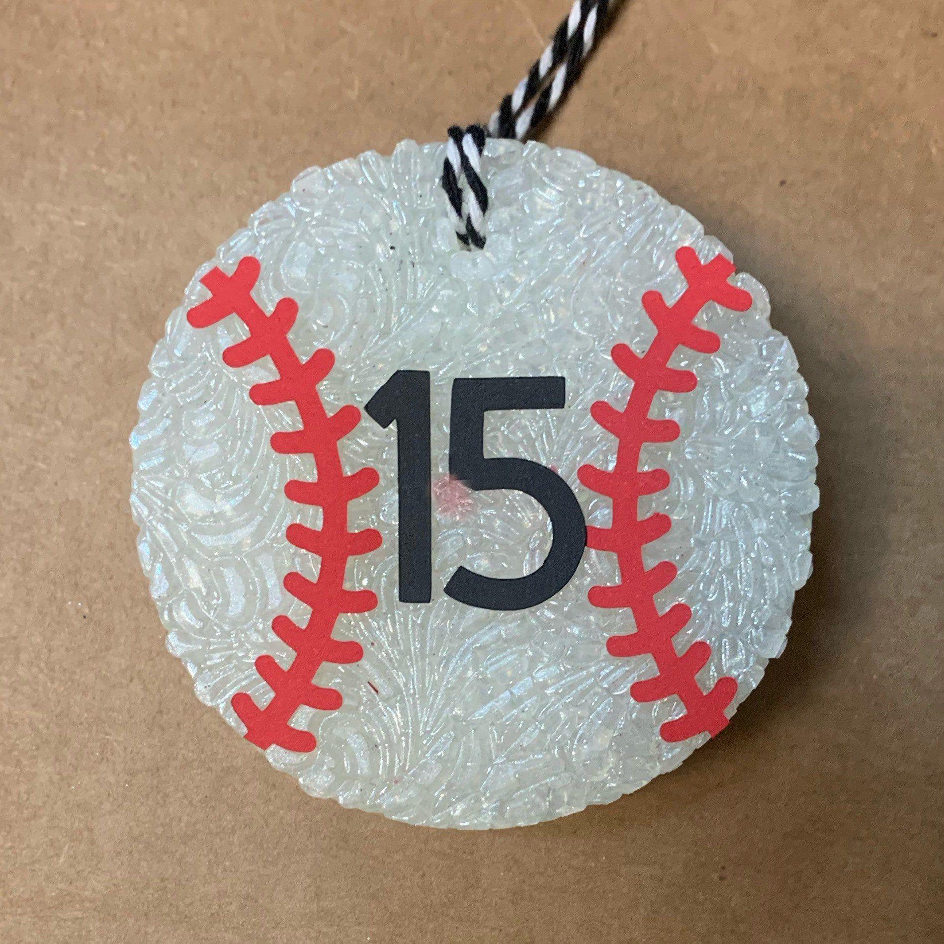 Personalized Baseball or Softball Car Air Freshener