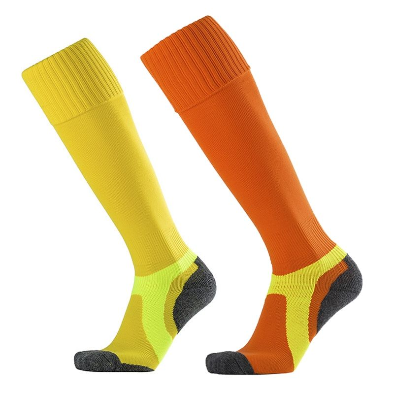 551f5faf402 Men s Socks Non-slip Towel Bottom Sock Quality Knee High Breathable  Deodorant Hose Sock Adult