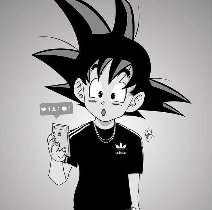 Image result for swag dbz art pinterest dragon ball - Image manga swag ...