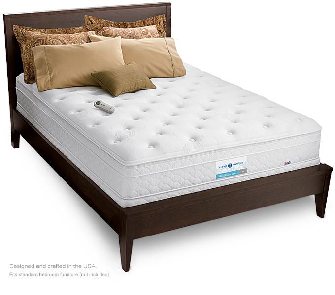 sleep number bed.. can't leave home without it.. Sleep