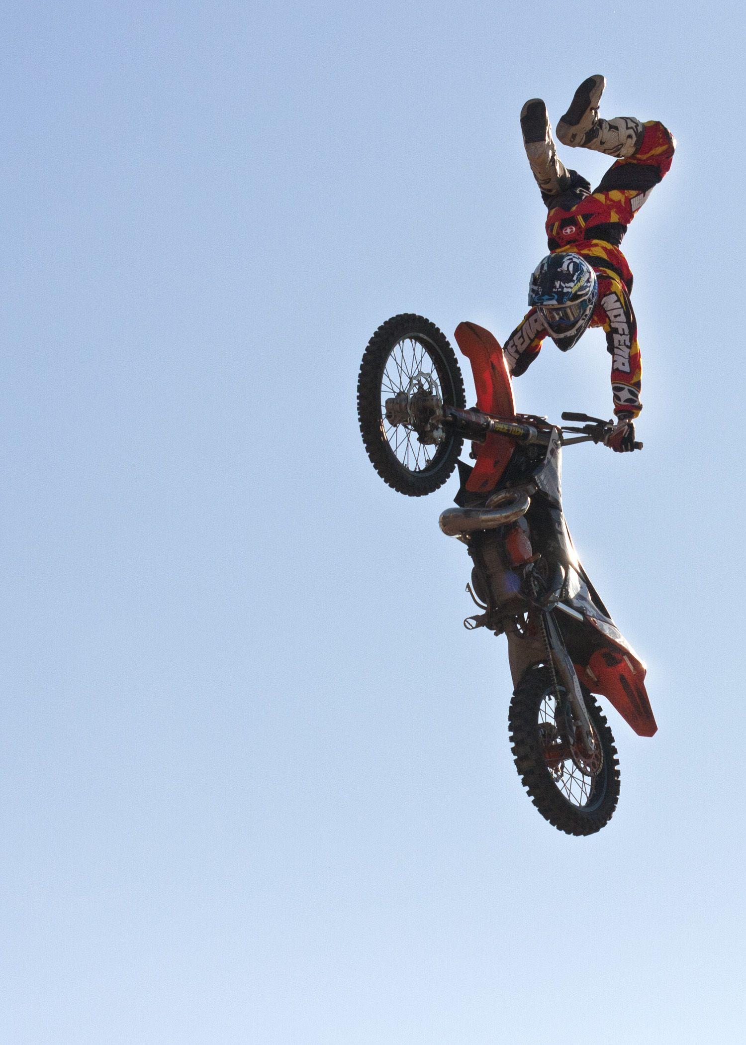 Motorcycle Dirt Bike Tricks 251 365 Cowboys Flying High Bike