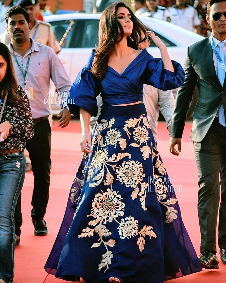 Rate the look 1.... Katrina Kaif arrives on the red carpet of IFFI ...