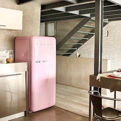 retro k hlschrank jetzt entdecken auf www purisd de. Black Bedroom Furniture Sets. Home Design Ideas