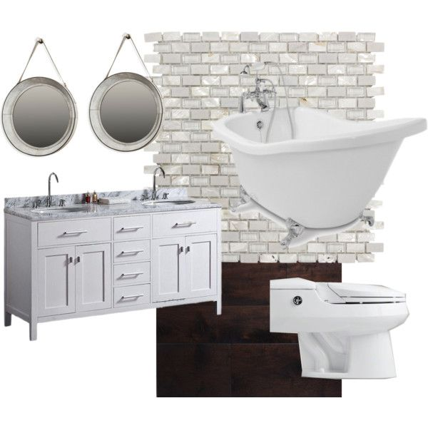 """""""Dream Master Bath"""" by dt1204 on Polyvore"""