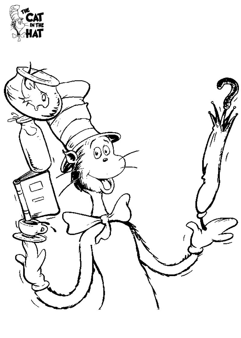 Cat Action Dr Seuss El Gato Ensombrerado Gatos Y