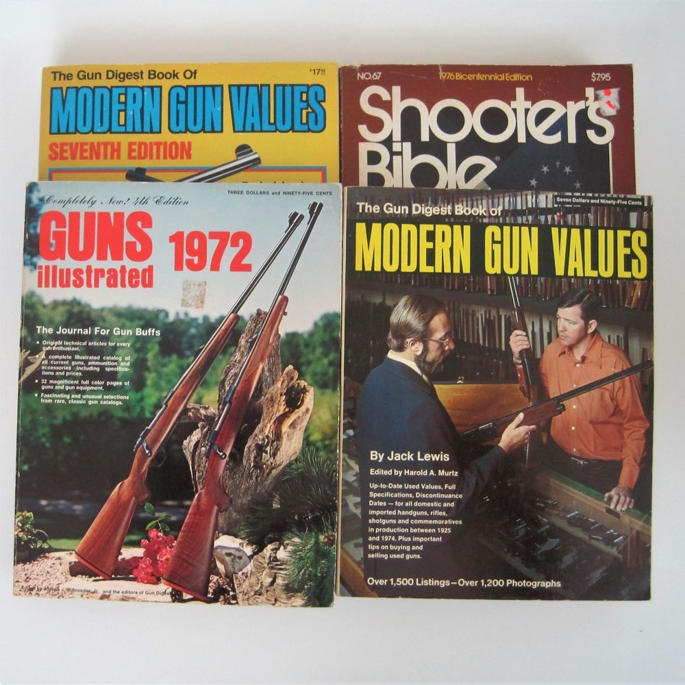 Shooters Bible Guns Illustrated Modern Values Firearms Reference ...