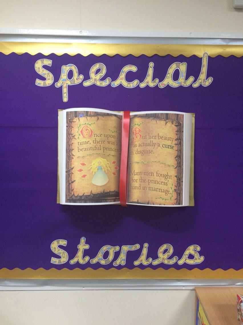 Special Stories 3d Book Classroom Display Fs2 Classroom