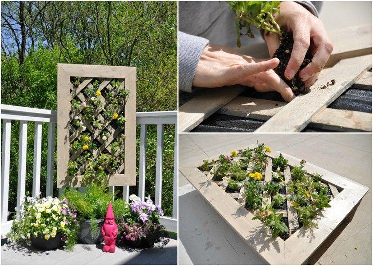 Vertikale Bepflanzung - 19 kreative Ideen und Tipps für vertikales - garten selbst gestalten tipps