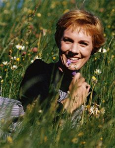 Julie Andrews as Maria #thesoundofmusic