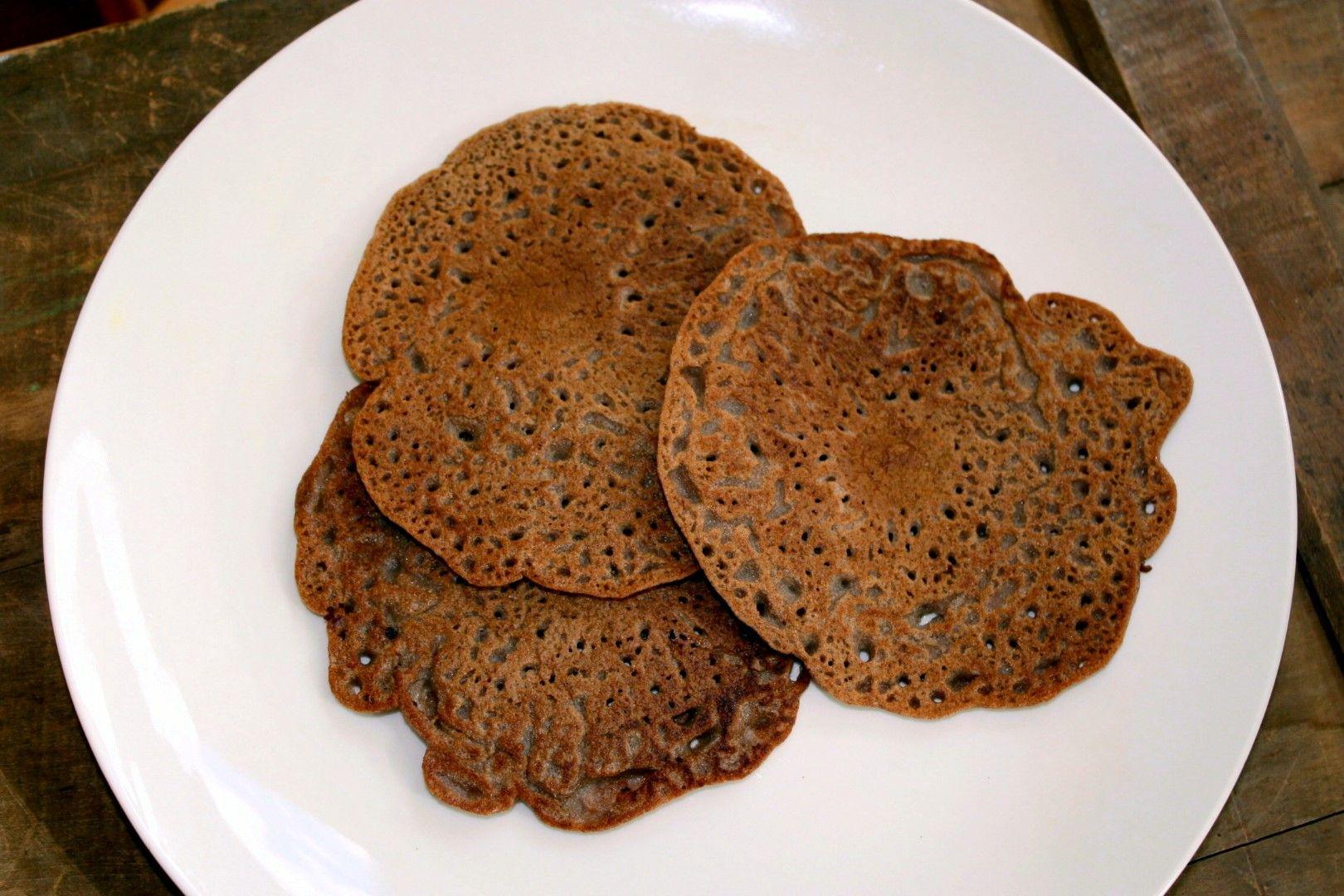 100 Teff Injera Ethiopian Sourdough Flatbread Fermenting For Foodies Recipe Savoury Food Baking Recipes Gluten Free Recipes Baking