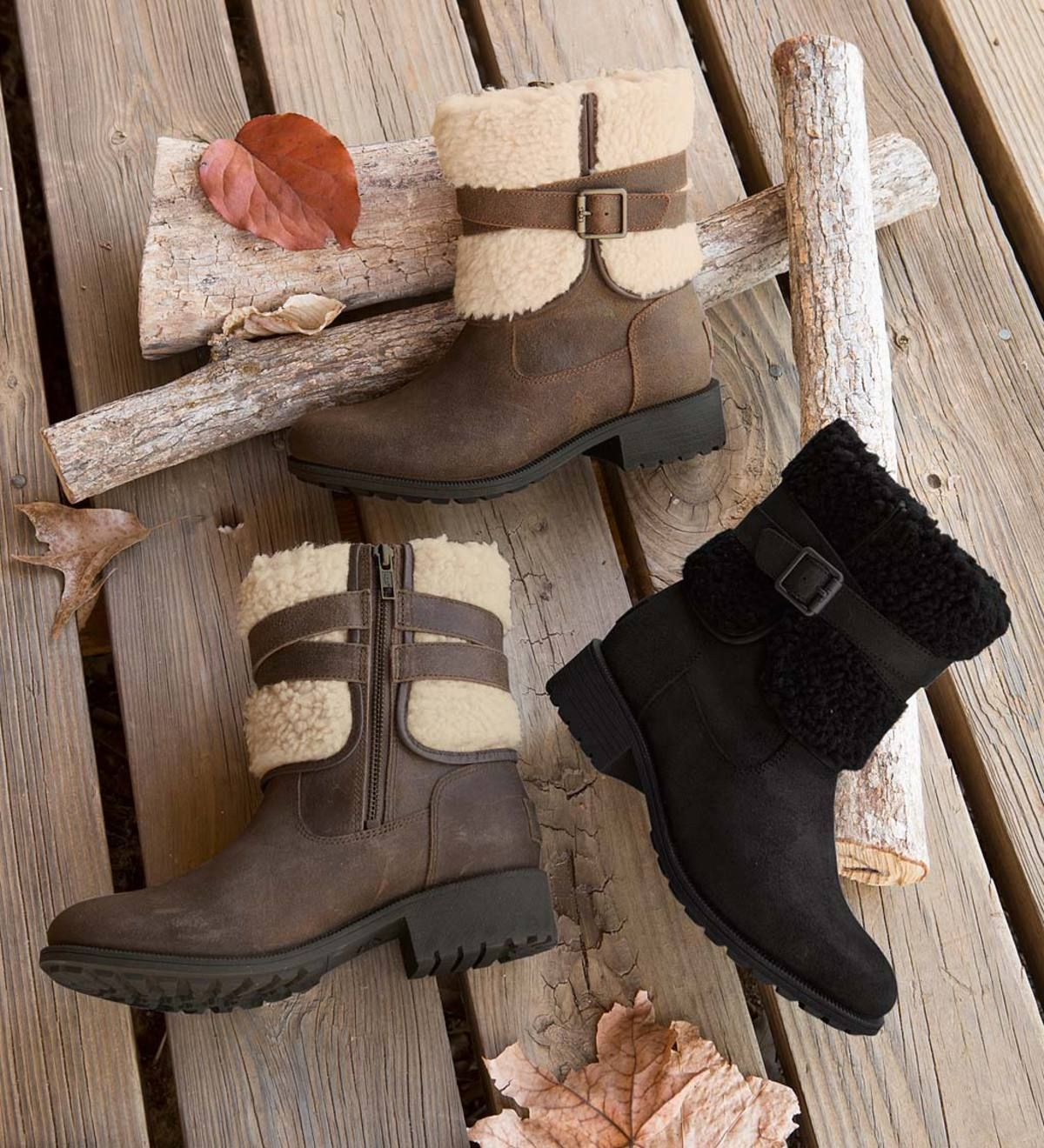 1c37096e475 UGG Blayre III Boots are both stylish and warm with soft, curly ...