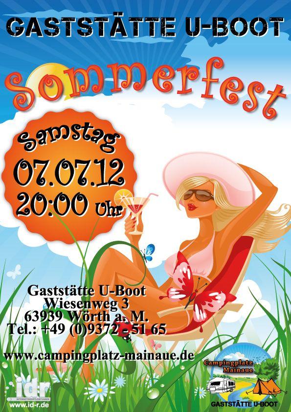 Photo of Plakat for sommerfestivalen