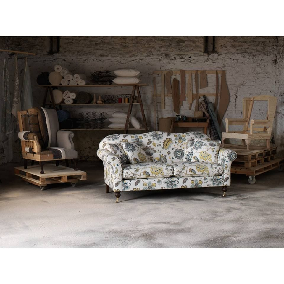 The Hinton Sofa In Robert Allen Spring Mix Fabric On Our Recent Photoshoot Wesley Barrell