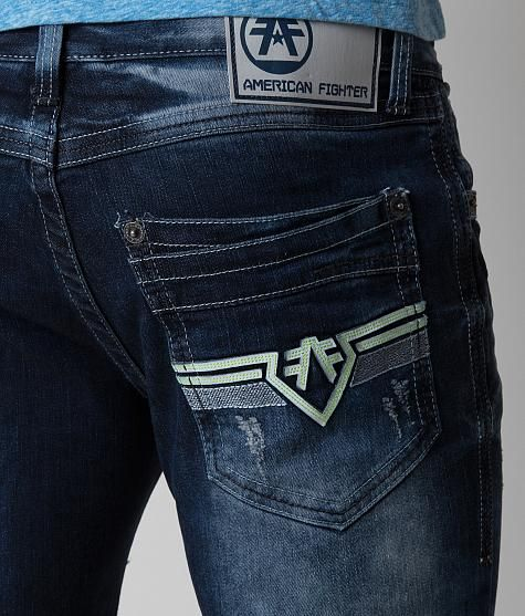 9aed8aa121 American Fighter Legend Jean