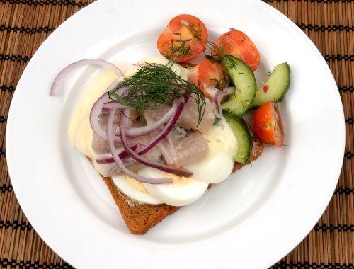 Sillmacka sillsmörgås