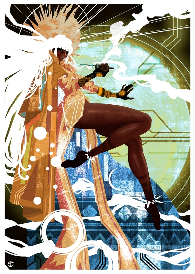 Iaci Moon Goddess, Me, Digital, 2020 Art in 2020 (With