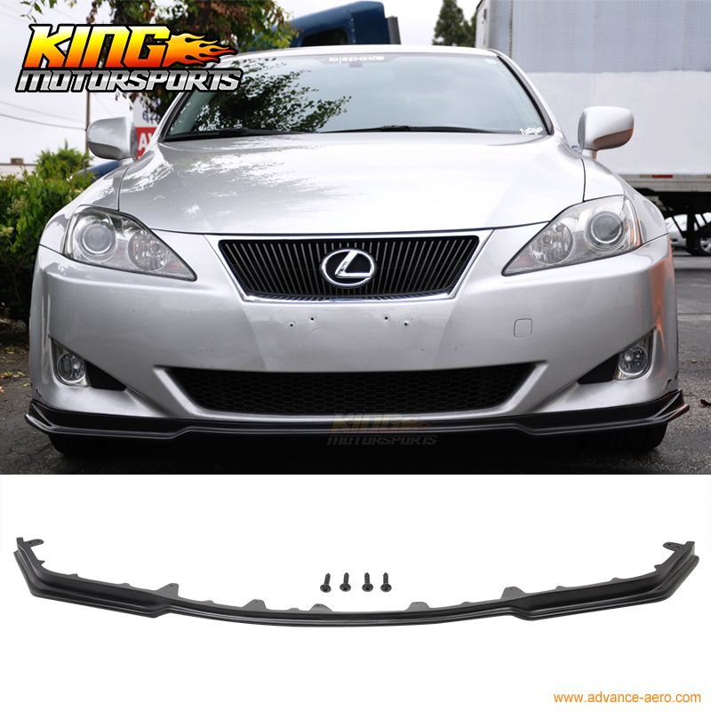For 06 08 Lexus Is250 Is350 Poly Urethane Jdm Front Bumper Lip