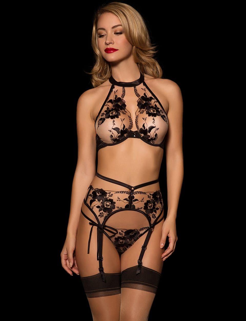 643897274afef Belle Sheer Lace Bra - Shop Lingerie