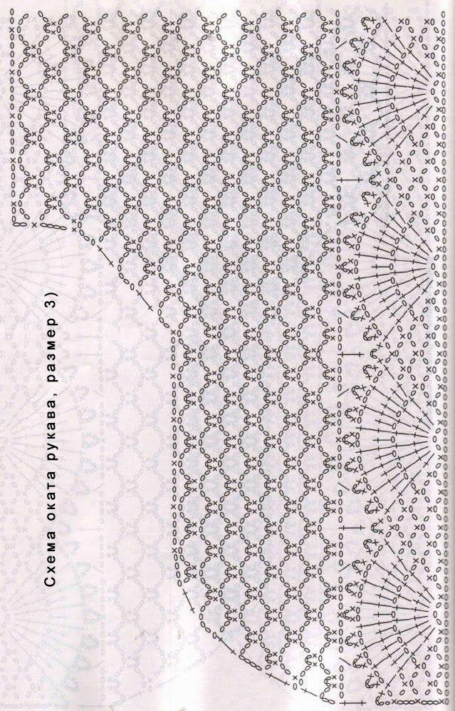 TRICO y CROCHET-madona-mía: Chaquetas de Crochet caladocon patrón ...