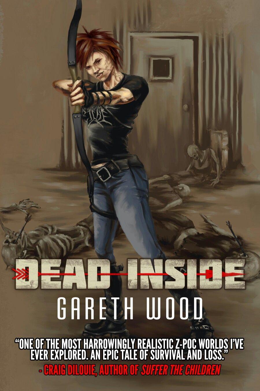 """307. """"Dead Inside"""" *** Gareth Wood (2014) Zombies books"""