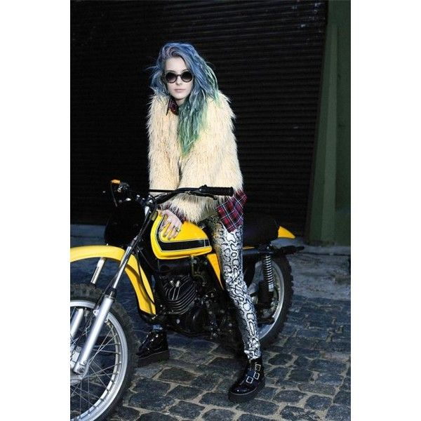 Chloe Nørgaard for Complot F/W 13 fashion. grunge. style. ❤ liked on Polyvore featuring chloe norgaard and girls