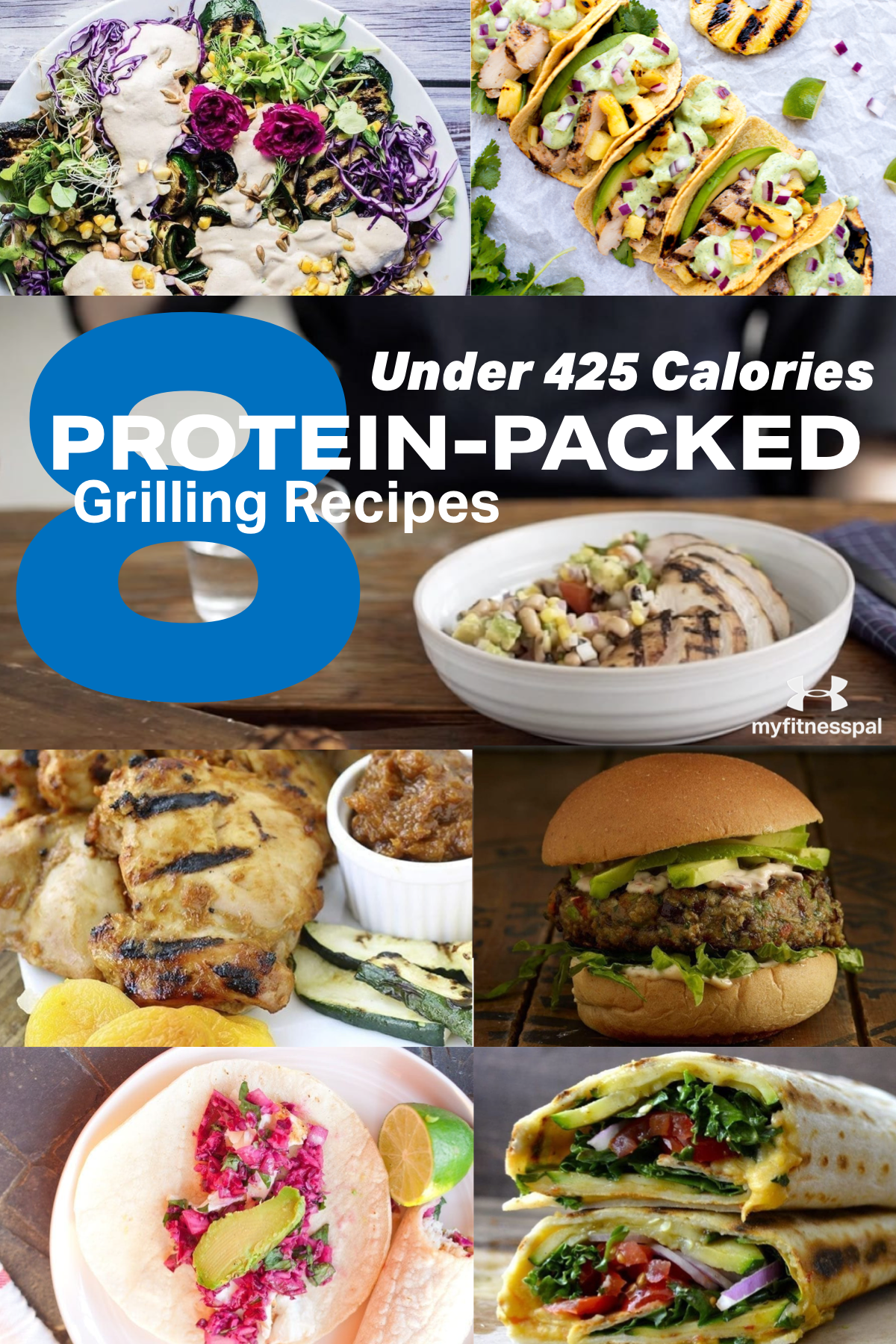 8 ProteinPacked Grilling Recipes Under 425 Calories