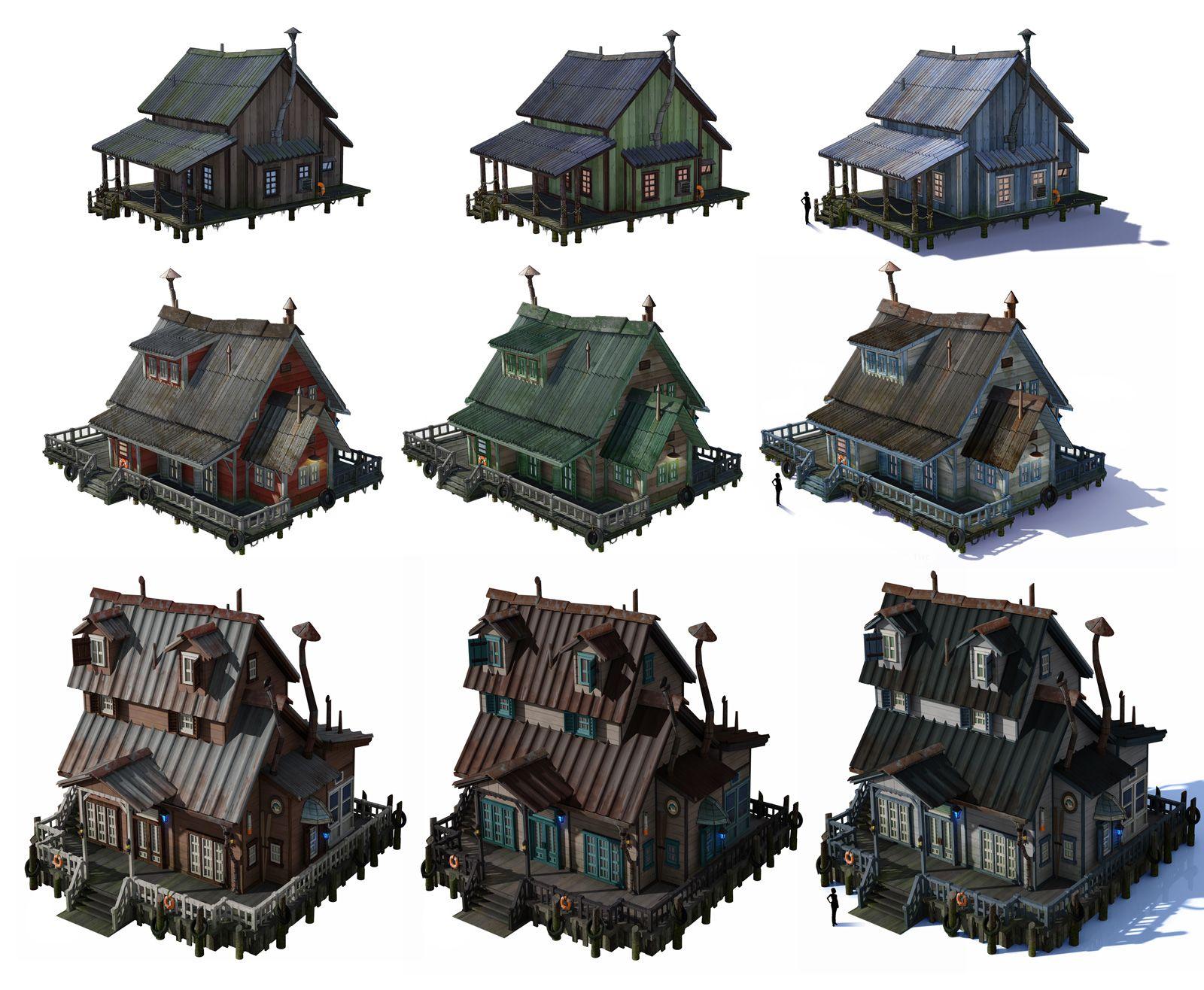 Картинки для игр здания