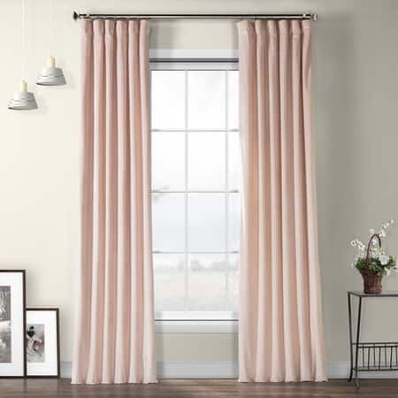 Deep Sea Teal Heritage Plush Velvet Curtain #modernrusticinteriors