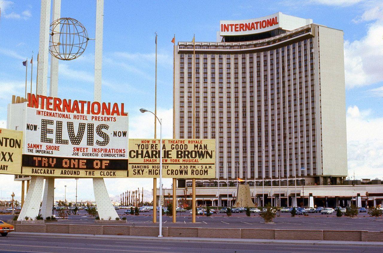 Vintage Las Vegas International Hotel Presents Elvis Las Vegas