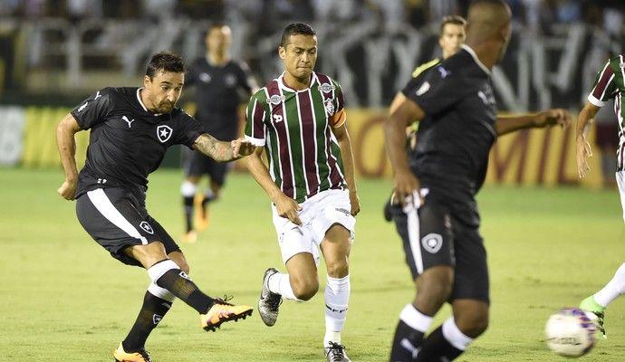 BotafogoDePrimeira: Gum marca aos 47 do segundo, e Flu empata com Bota...