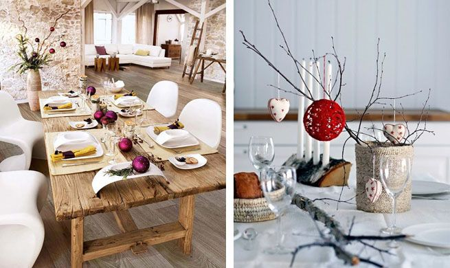 C mo decorar tu mesa de navidad para la cena de for Como decorar la mesa de navidad