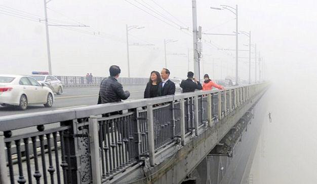 Os amantes da ponte Wuhan Yangtze