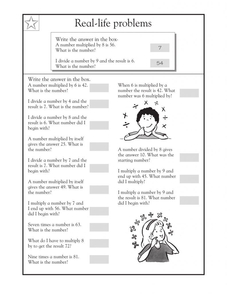 3rd Grade Math Word Problems Math word problems, Word