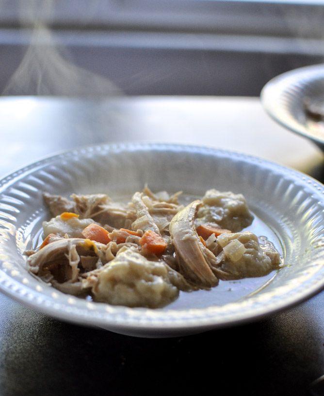 Crockpot Chicken and Dumplings #chickendumplingscrockpot
