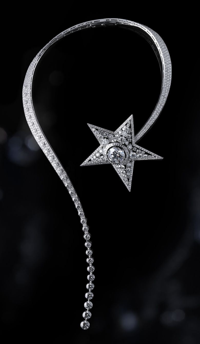 80d4724edb CHANEL - High Jewelry - women's shooting star necklace | Jewelry ...