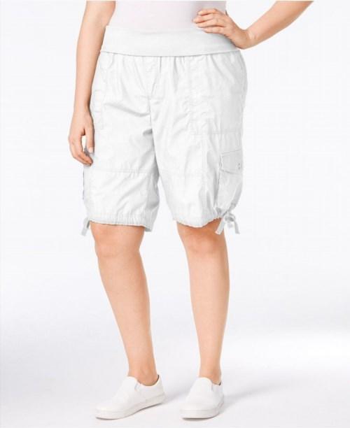 569e30cb1f4 Calvin Klein Performance Plus Size Cargo Shorts - Shorts - Plus Sizes -  Macy s