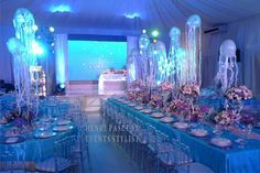 Under The Sea Styling By Henry Pascual Sea Wedding Theme Sea