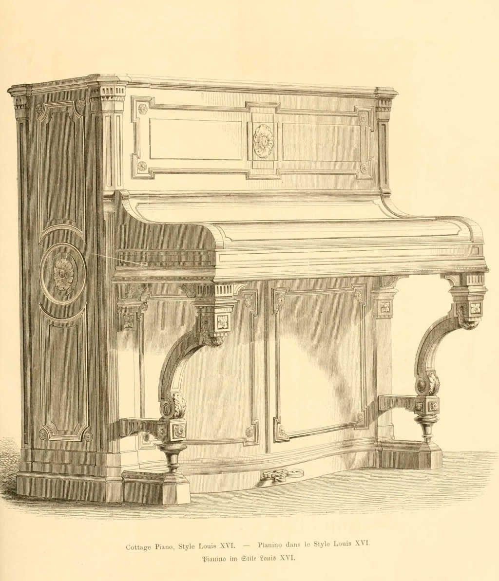 Dessins De Mobilier Tir S De Catalogues De Meubles De 1871  # Meubles Style Cottage