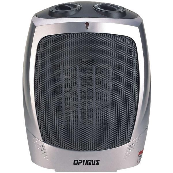 Optimus H 7004 Portable Ceramic Heater With Thermostat Ceramic Heater Portable Heater Space Heater