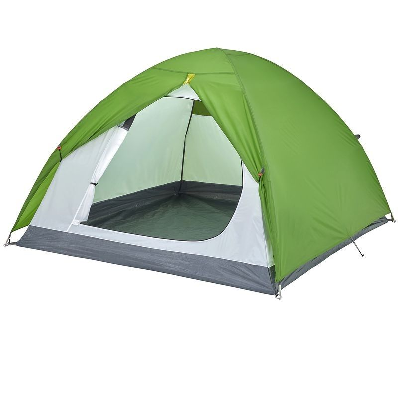 Touring Camp Tents Tarps Arpenaz 3 Tent 3 Man Green Camping En Tente Camping Tente Decathlon