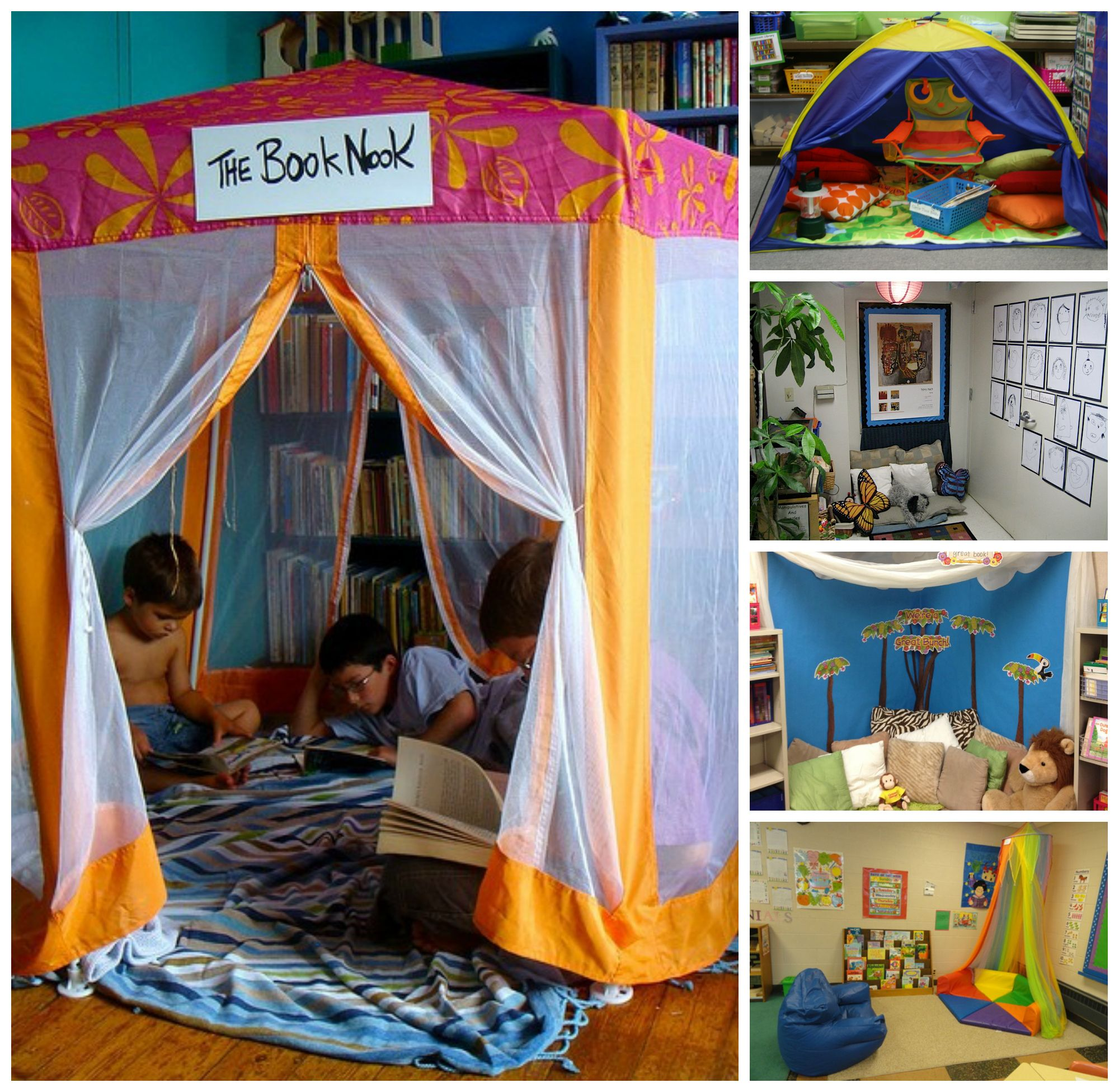 Classroom Corners Ideas ~ How to create a calm down corner special shades of color