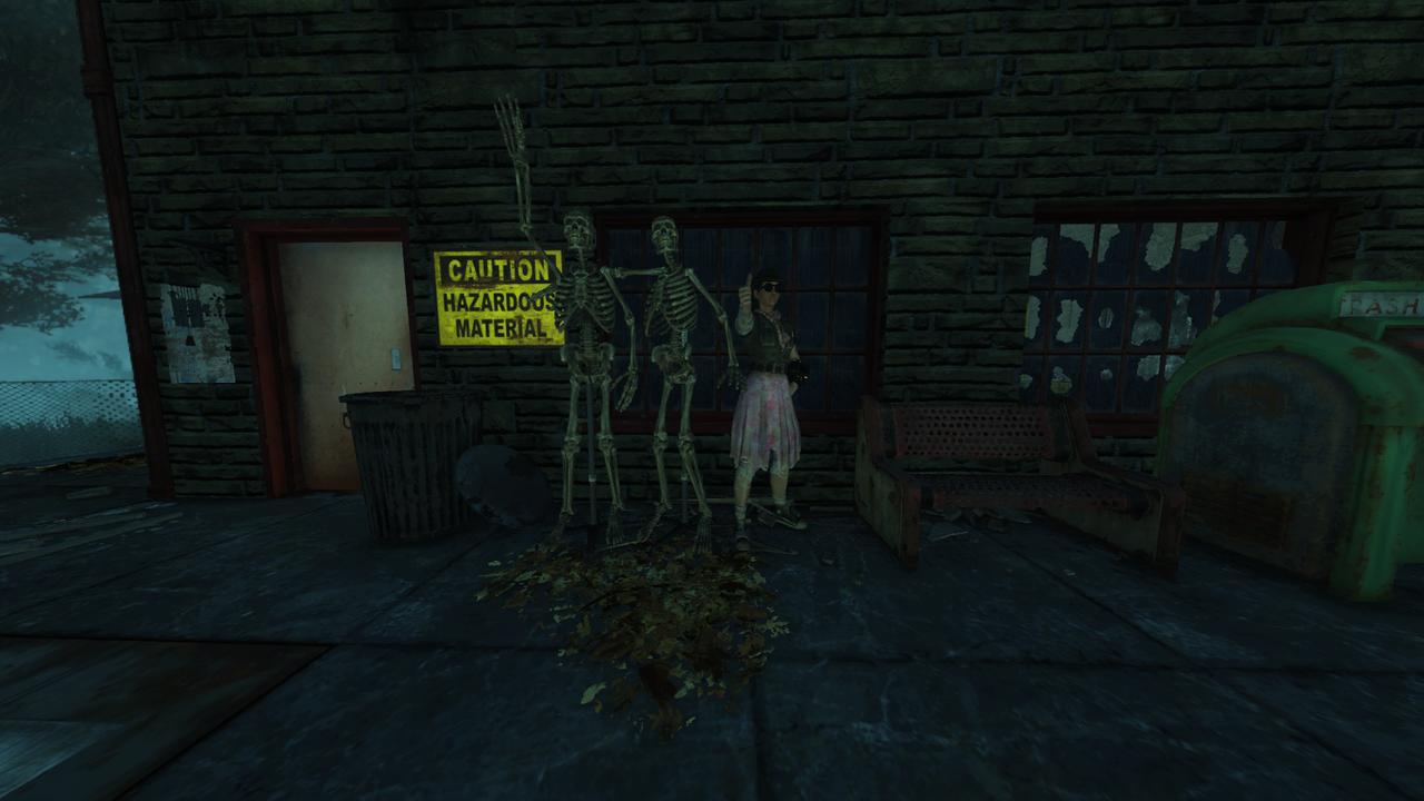 I like to make friends everywhere I go, even in the game