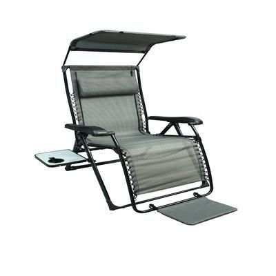 XL Zero Gravity Chair with Canopy and Footrest. These are ridiculously comfortable - Home Depot  sc 1 st  Pinterest & XL Zero Gravity Chair with Canopy and Footrest. These are ...