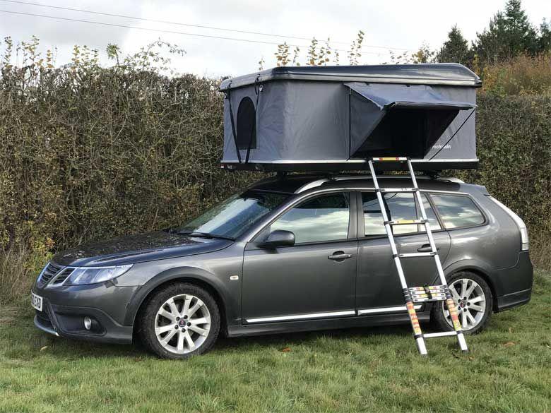 New Saab Motorhome Solution Roof Rack Tent Motorhome