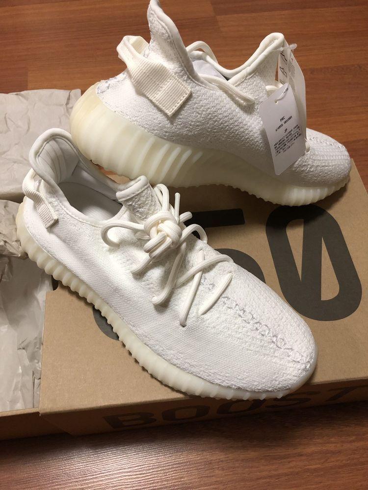 6ead39b838a eBay  Sponsored 100%Auth BNIB ADIDAS YEEZY BOOST 350 V2 Sneakers Shoes  Triple White US9