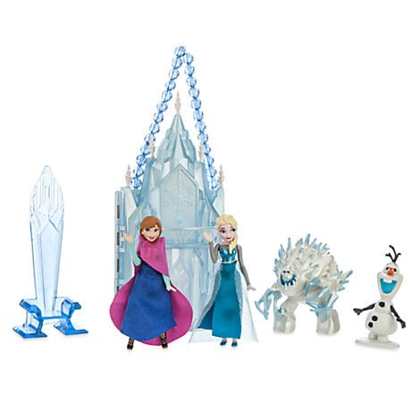 Elsa Mini Castle Play Set | Disney Store