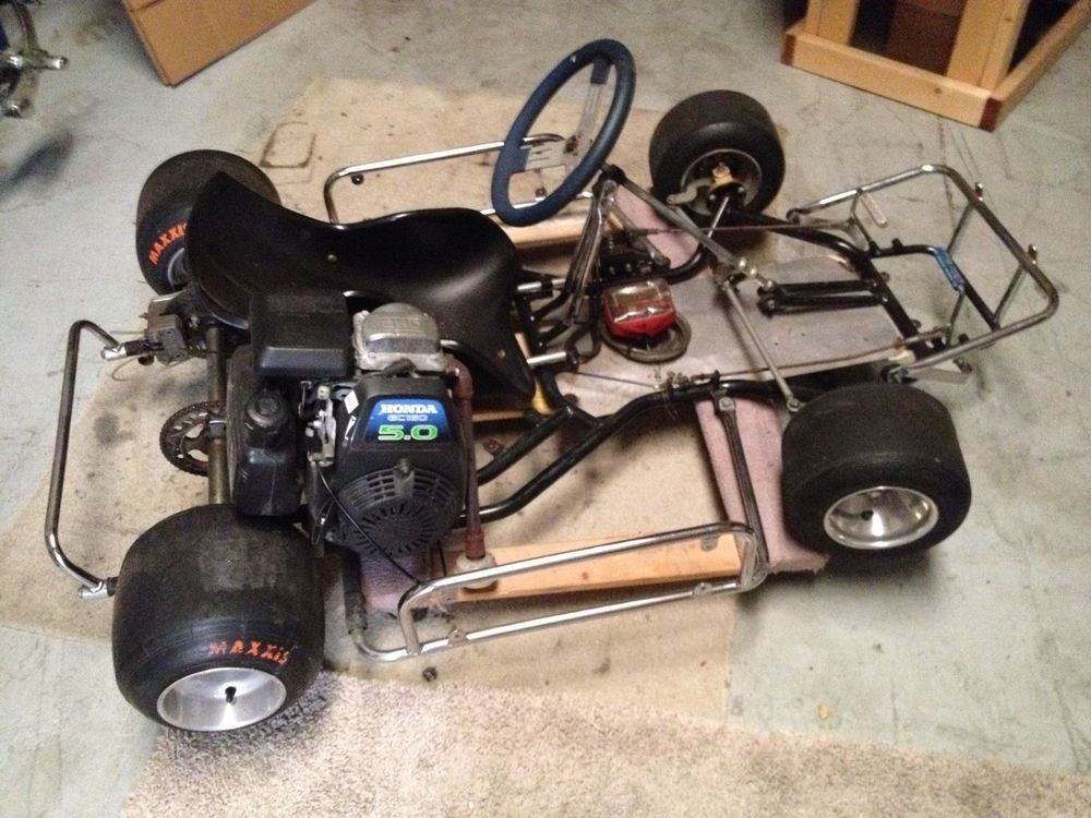 Go Kart Racing Cart 5.0 Honda GC160 Engine Runs 1st Pull Pickup Only GDaS #Honda | Stuff to Buy ...