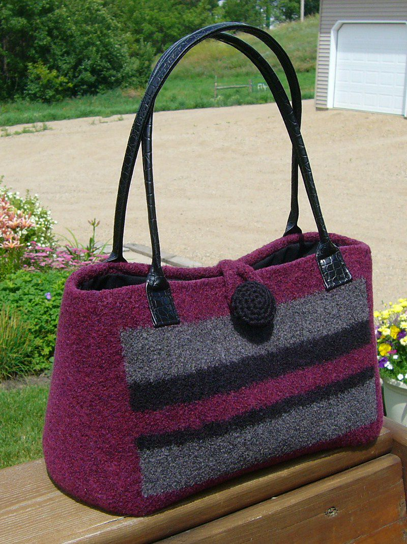 Ravelry: katepwe's Striped Doctors Bag