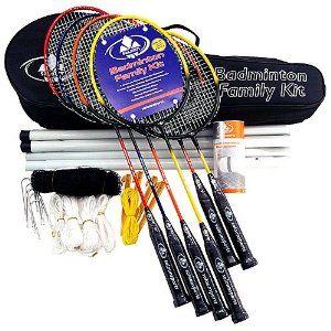 Salaun Badminton Advanced Family Game Kit