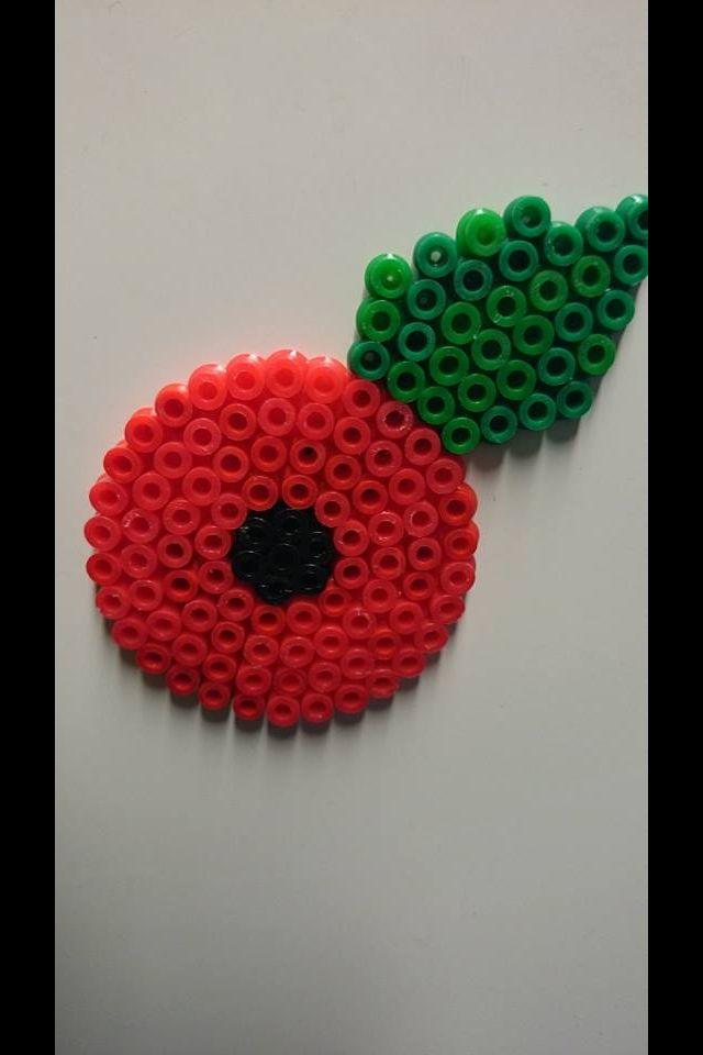 Hama Bead Poppy, Love it